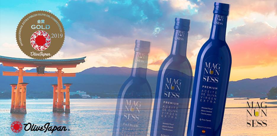 La Olive Japan otorga una Medalla de Oro a Magnun Sess Premium