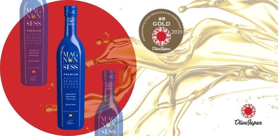 Magnun Sess Premium repite Medalla de Oro en la Olive Japan