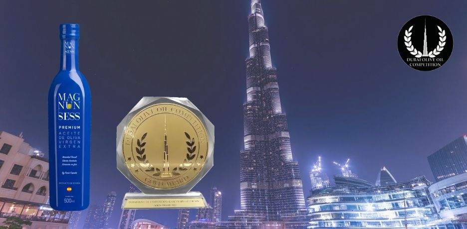 Magnun Sess Premium consigue una medalla de Oro en la Dubai Olive Oil Competition 2021