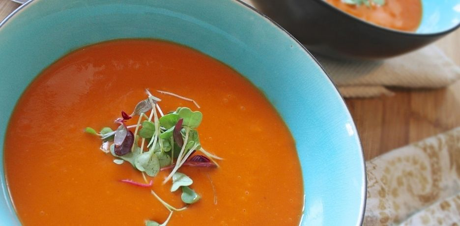 [RECIPE] Andalusian gazpacho with extra virgin olive oil