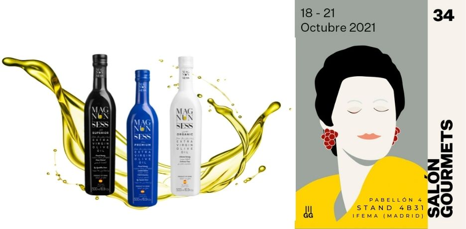 Magnun Sess presents its new campaign oils at the Salón Gourmets in Madrid.